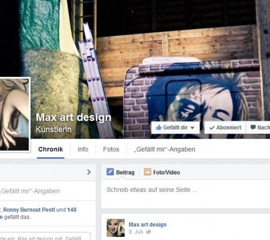 Meine Fanseite auf Facebook