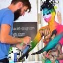 World bodypainting Festival 2015 Weltmeisterschaft 9. Platz Kategorie Airbrush