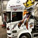 Transporte Gratzer Scania LKW airbrush